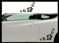 FLOWER CAR BODY DECALS